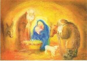 Hirten Bilder Weihnachten.Details Zu Postkarte Karte Weihnachten Maria Josef Jesus Hirten Könige Div Motive