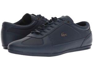 Uomo-Scarpe-LACOSTE-evara-318-1-Fashion-Sneaker-36CAM002395K-Blu-Scuro-NUOVO