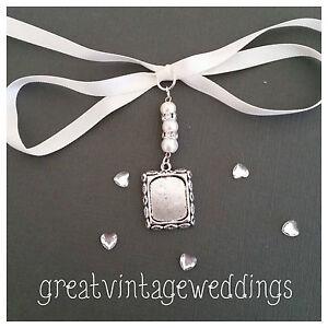 Sunning-Bridal-Memory-Bouquet-Charm-Oblong-Silver-Pendant-Locket-amp-Gift-Bag