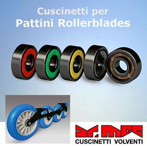 Confezione-cuscinetti-cod-608-Z-per-pattini-in-linea-rollerblade
