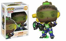 Funko Pop Game Overwatch Lucio Vinyl Action Fig #179 FREE SHIPPING