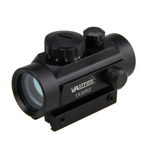 Tactical-Holographic-Reflex-Green-Red-Illuminated-Dot-Sight-Scope-11mm-20m-Rail