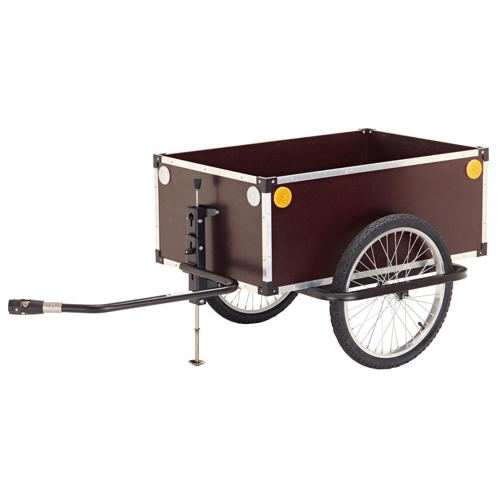 Roland jumbo remolque de bicicleta Cocherito de mano 175l transporte embrague tiefdeichsel 20
