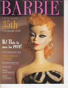 35th-Anniversary-BARBIE-10-page-pamphlet-brochure-Letter-from-Barbie-039-s-Mom