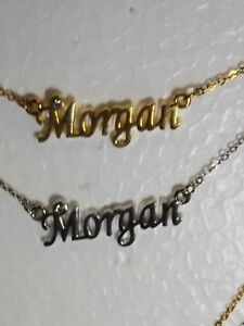 MORGAN-Name-Necklace-with-Rhinestone-Gold-or-Silver-Tone