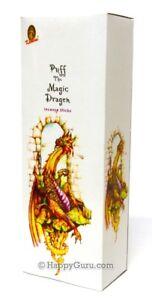034-Puff-The-Magic-Dragon-034-25-Square-Packets-200-Incense-Sticks-Kamini-Brand