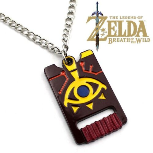 Game The Legend of Zelda Breath of the Wild Pendant Necklace Cosplay Jewelry