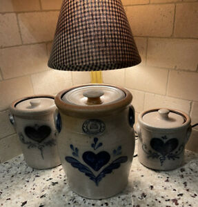 Rowe-Pottery-Salt-Glazed-Country-Home-Collection-3-Piece-Canister-Set
