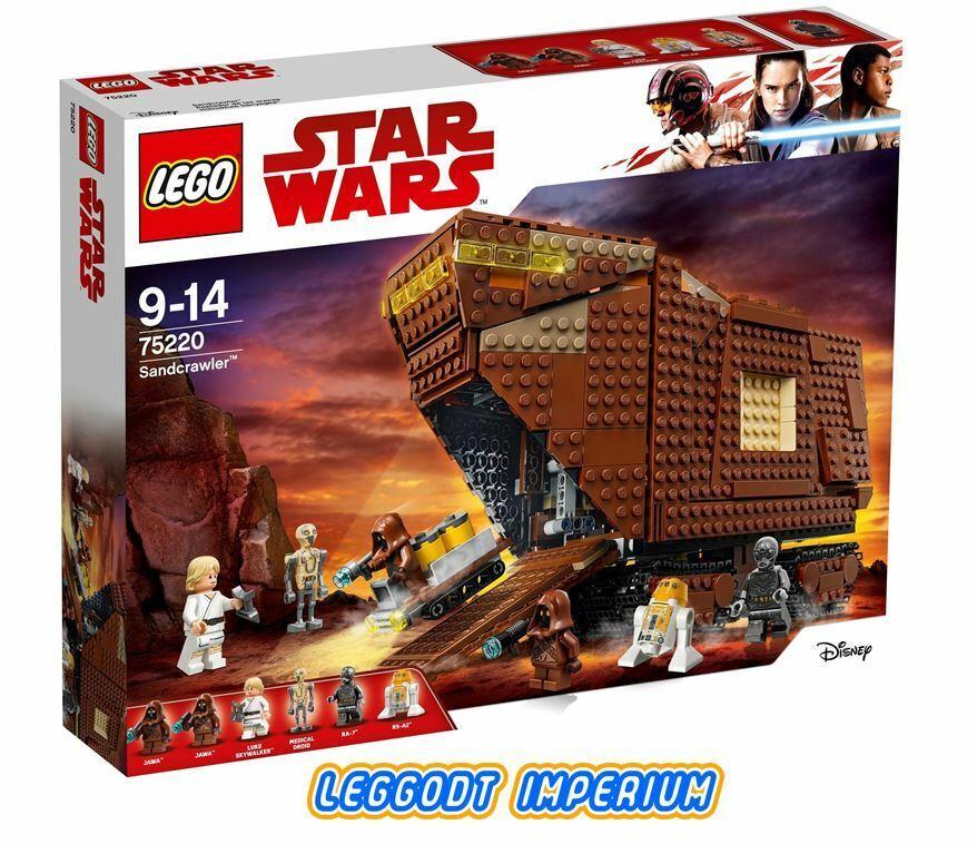 LEGO Star Wars Episode IV - Sandcrawler - 75208 Jawa New + Sealed
