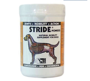 Stride Powder For Chiens 150g / 500g Glucosamine Chondroïtine Msm