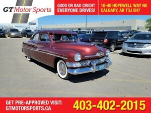 1951 Mercury SPORT Suicide Doors 1CM Body    $0 DOWN - EVERYONE APPROVED!