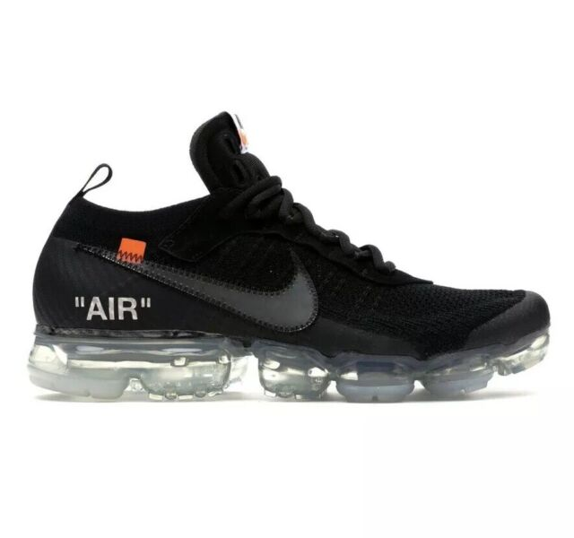 newest collection 572e2 641b7 Nike Air Vapormax Off White Black Size 8 Pre-Owned 100% Authentic Ready To  Ship