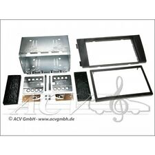 ACV 381320-13 Doppel-DIN Einbaukit Audi A6 (4B) 2001-2004 Doppel Din Radioblende