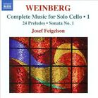 Mieczyslaw Weinberg: Complete Music for Solo Cello, Vol. 1 (CD, Nov-2010, Naxos (Distributor))