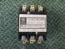 GE Contactor CR353AC3BA1AD 30/40 A 600 V 120 V coil