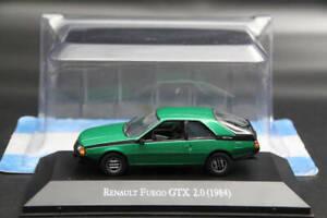 ALTAYA-1-43-Escala-Renault-Fuego-Gtx-2-0-1984-auto-Diecast-modelos-limitados-IXO