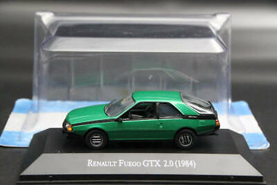 Altaya 1:43 Scale Renault Fuego GTX 2.0 1984 Diecast Models Auto Limited Edition