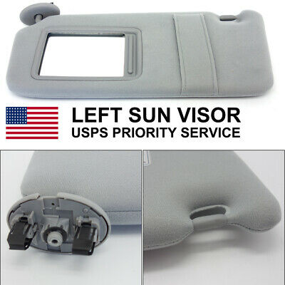 Left Sun Visor For 2006-2011 Toyota Camry LE SE XLE Without Sunroof Driver Side