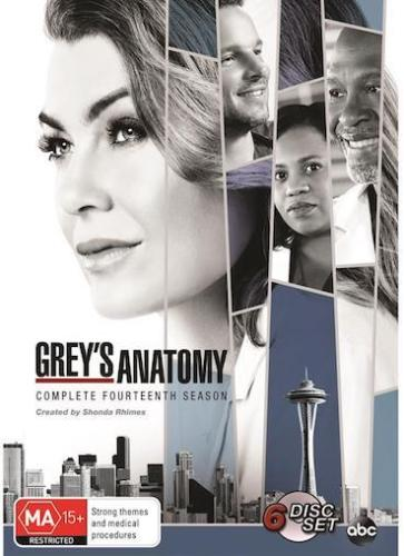 GREY's Anatomy : Season 14 : NEW DVD