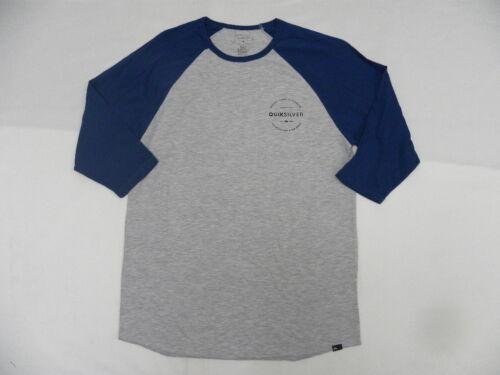 Quiksilver Free Zone Raglan 3//4 Sleeve  T Shirts Sz Medium SAQYZT04435