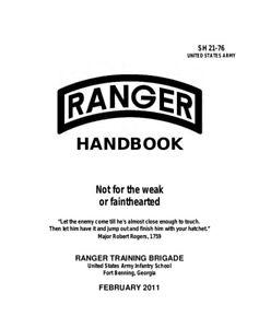 TC-3-21-76-U-S-Army-Ranger-Handbook-April-2017-Edition-Brand-New