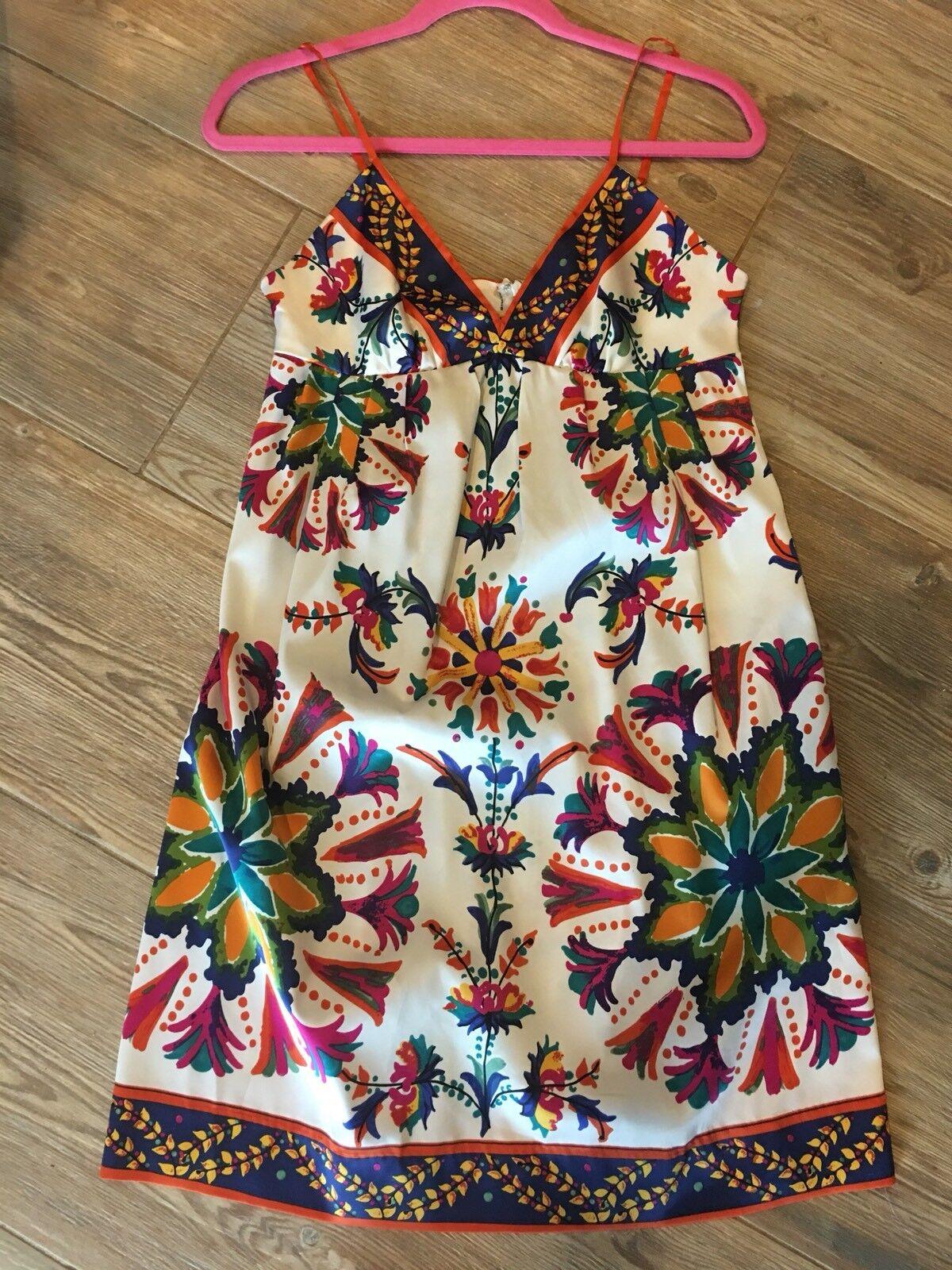 Anthropologie Eci Folkloric Folk Dress Floral New 4