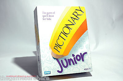 Pictionary Jr Junior Board Game Parker Brothers 2005 COMPLETE good condition