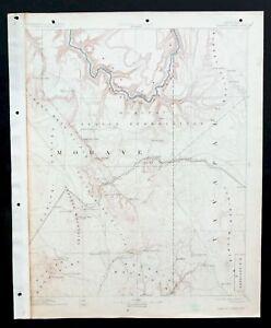 Topographic Map Grand Canyon.Diamond Creek Arizona Vintage Usgs Topographic Map 1892 Grand Canyon