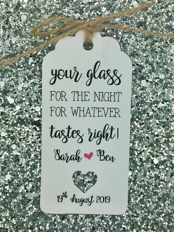 Verre Lunettes/Verres mariage Jar, faveur balises, Mason Jar, mariage Alcool Tasse 14e271