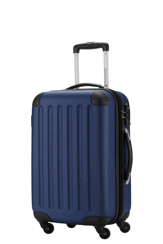 Capitale valise Coque bagages à main Coque valise Rigide-Valise Spree, TSA, 55 cm bleu foncé c17be1