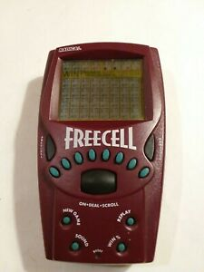 Vintage-1999-Radica-FREECELL-Solitaire-Electronic-Handheld-Game