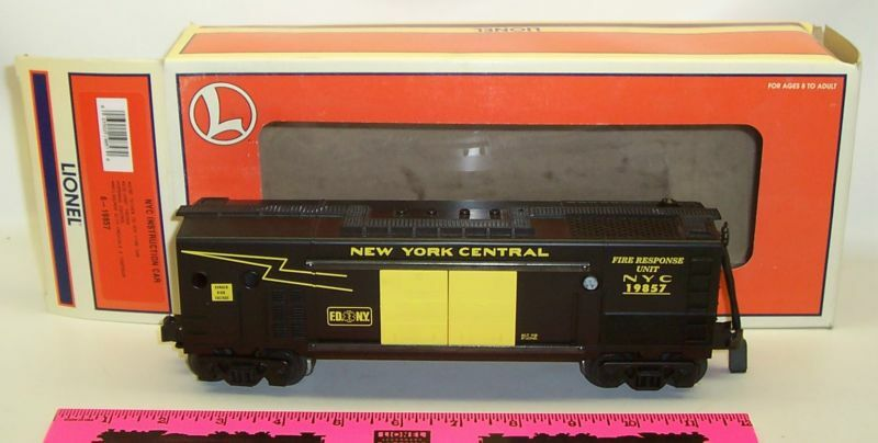 Lionel New 6-19857 NYC Instruction car