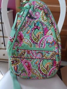 cf9ba71927 Image is loading Vera-Bradley-Sling-Tennis-Backpack-in-Tutti-Frutti-
