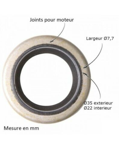 Joint spi pour B/&S 391483-291841