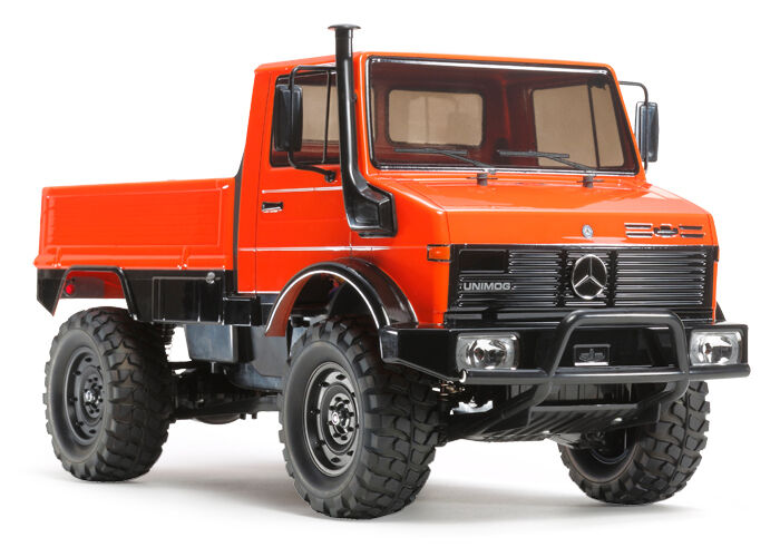 TAMIYA 58609 MERCEDES-BENZ UNIMOG 425 RC Kit-Accordo Bundle con steerwheel Radio