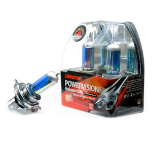 H4-Lampade-P43t-Pere-4000K-60W-55W-Platinum-12V-2-Pezzo