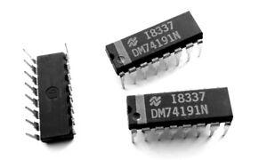 DM74191N-SN74191N-Synchronous-Up-Down-4-Bit-Binary-Counter-74191-IC-1-pcs