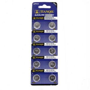 10PCS-AG13-LR44-SR44-L1154-357-A76-Button-Coin-Cell-Pack-Alkaline-Batteries-New