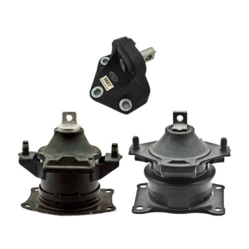 Hydra Engine /& Trans Mount 3PCS w// Vacuum Pin for 07-08 Acura TL 3.5L fot Auto