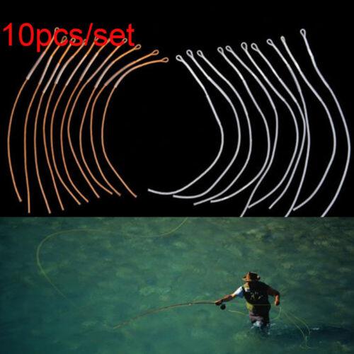 Boucle Connecteur fly fishing braided line leader Loops Poids Avant Flottant