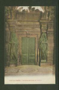 Hotel-des-Invalides-Les-portes-de-bronze-du-Tombeau-Vintage-Printed-Postcard