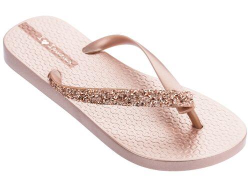 Ipanema Ladies Glam Special Crystal Flip Flops Womens Thong Summer Sandals