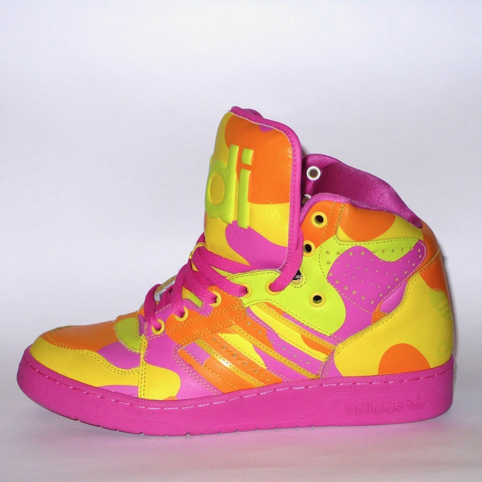 Adidas X EE. Jeremy Scott Neon UU. Camo instinto Zapatos EE. X UU. Neon 9 4bc789