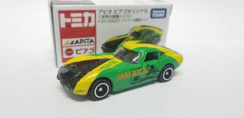 Tomica APITA Toyota 2000GT Jamaica Flag