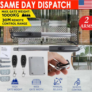 Details About 24v Electric Automatic 2 Arm Swing Gate Opener Hardware Driveway Door Kit W Box