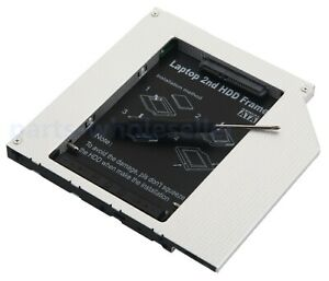 PATA-IDE-2nd-Disque-Dur-SSD-etui-Boite-Adaptateur-pour-HP-Compaq-nc2400-multibay