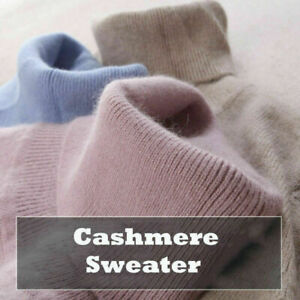 Women-039-s-Slim-Knitted-Turtleneck-Cashmere-Jumper-Pullover-Elasticity-cozy-Sweater
