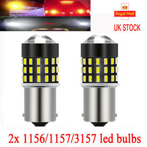 382 Cob led Smd Amber 1156 Ba15s P21w 5w Car Turn Indicator Light lamp Bulbs 12v