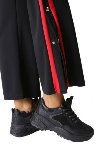 Femmes Sport Baskets Chaussure Lacée confortable durant toute l/'année Taille 36-41 Neuf