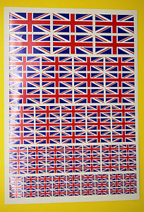 Rc Union Jack Autocollants Décalques, Rc Voiture Avion Hélicoptère Slot Cars Etc-afficher Le Titre D'origine